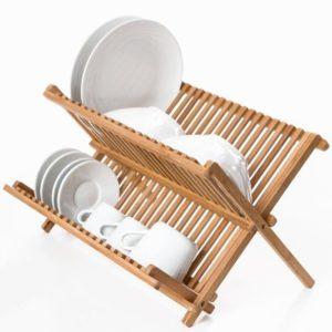 bambus opvaskestativ